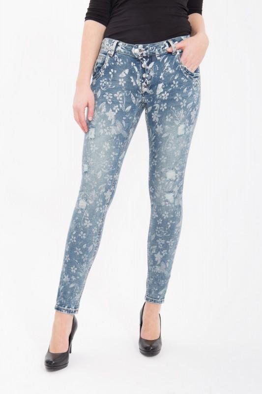 BLUE MONKEY Skinny Fit Jeans Manie 1474 Manie 1474