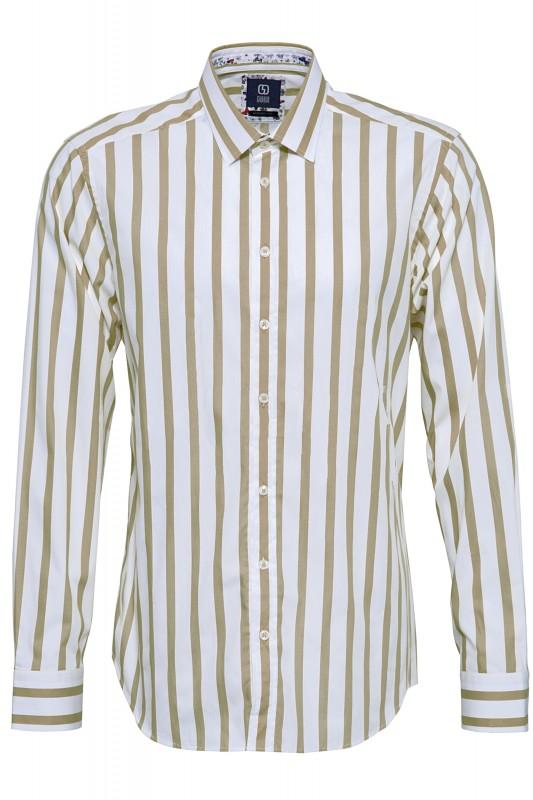 GABANO Langarmhemd mit Streifen