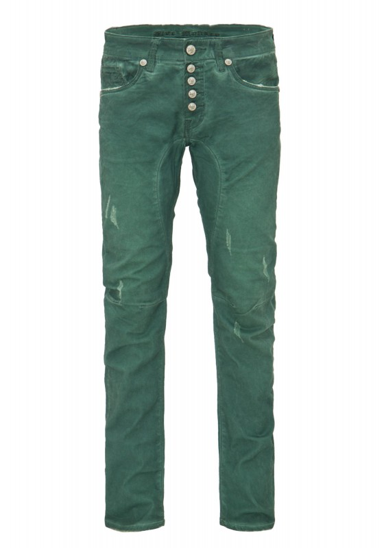 BLUE MONKEY Slim Fit Jeans overdyed Look Andy 4403