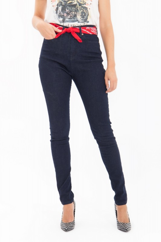 QUEEN KEROSIN High Waist Jeans Betty Fit Betty Fit