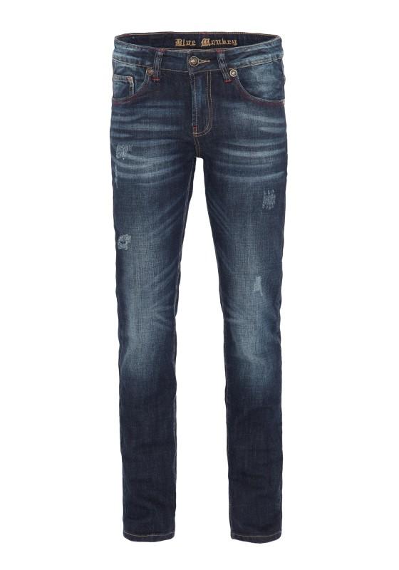 BLUE MONKEY Slim Fit Jeans Paul 4425 Paul 4425