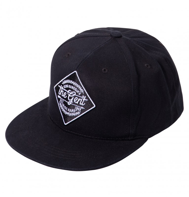 KING KEROSIN Baseballcap mit Front-Stickerei The Gent