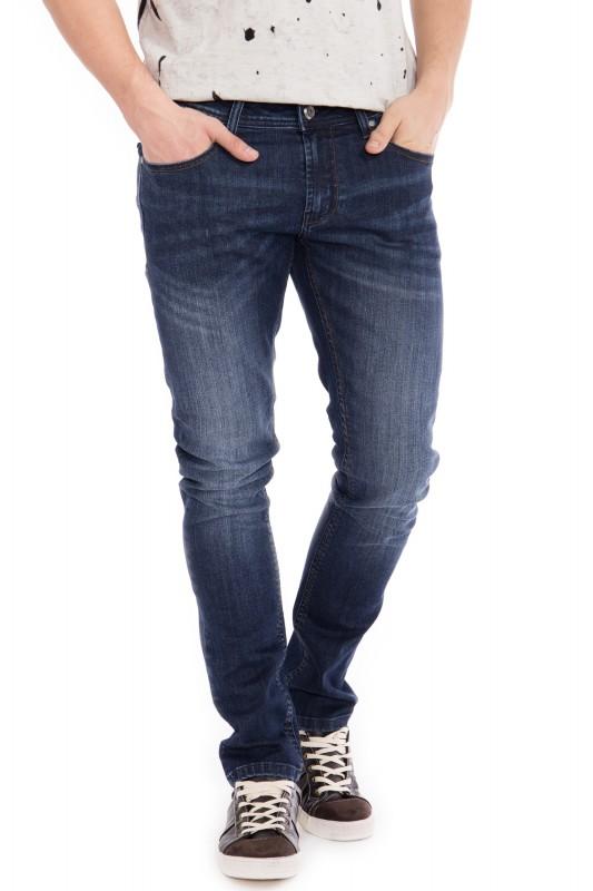 WAY OF GLORY 5 pocket Jeans - Justin - slim fit mit Sitzfalten Justin