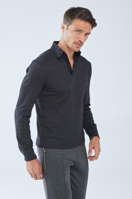 Langarm Polohemd »Charles«