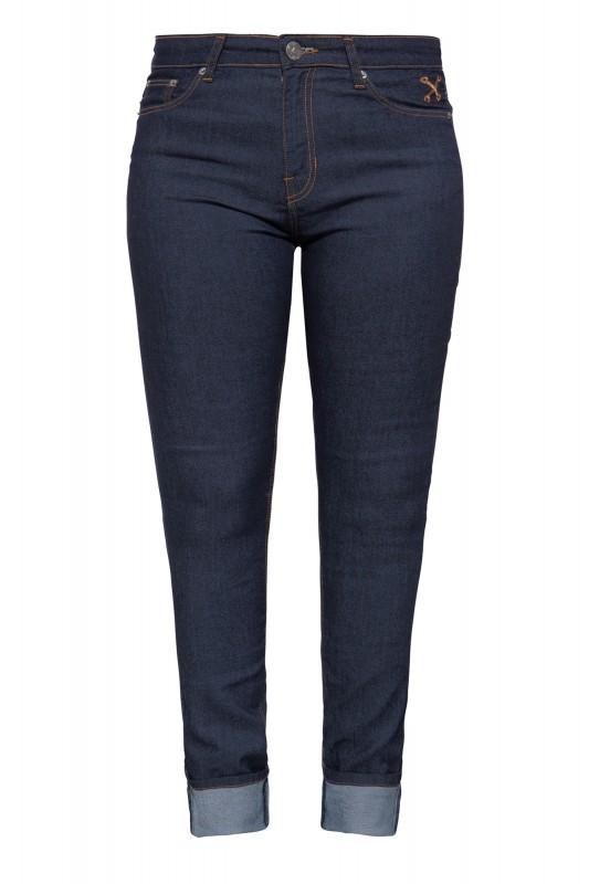Slim Fit Jeans im 5-Pocket-Design  - Bild