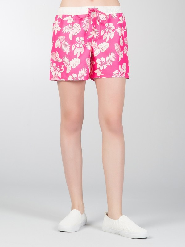 COLINS Beach Shorts mit Tropical Muster