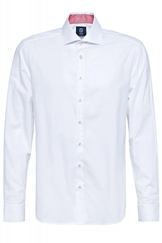 GABANO Langarmhemd mit dezentem Strukturmuster