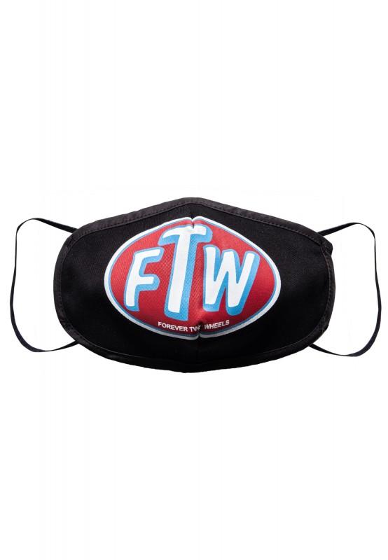 Schutzmaske mit coolem Frontprint »Forever two Wheels«