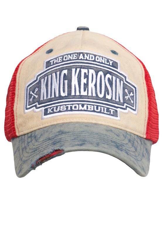 KING KEROSIN Trucker Cap im Vintage-Look